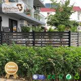Le WPC Board et matériau de châssis en aluminium composite de bois de clôture de jardin