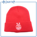 アクリルのカスタムニットPOMの帽子の帽子の卸売
