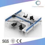 Venta caliente dos asientos moderna estación de trabajo de oficina de Mesa de ordenador con cajones (CAS-W1888)