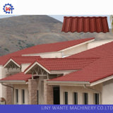 Grosser Rabatt-Aluminiumzink-Stein-überzogene Stahldach-Fliese