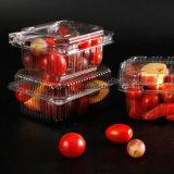 De plastic Verpakking van de Blaar Clamshell met de Afgedrukte Groothandelaar van de Doos van Clamshell van de Blaar van het Huisdier van pvc van de Rang van het Voedsel van de Kaart Duidelijke
