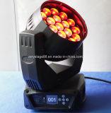 19 12W RGBW LED свет Zoom перемещение головки DJ фонарь