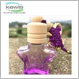 Автомобиль формы звезды симпатичный Handmade вися бутылку Prefume стеклянную