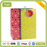 Polka Dot шаблон моды арт бумага с покрытием подарок бумажных мешков для пыли