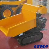 Funcionamiento sencillo diseño nuevo rastreador de Mini Dumper Truck para la granja