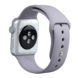 Tira de banda de relógio de Silicone macio para Apple Assista a precinta Series 2 & 3 42mm/38mm