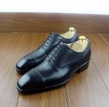 Kuh-lederne Mann-Kleid-Art-handgemachte Arbeits-Schuhe