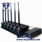 6つのバンド遠隔制御装置RFの妨害機(315/433/868/915MHz)