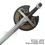 Spada medioevale 98cm Jot114c del cavaliere della spada del crociato