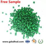Riempitore Masterbatch di colore verde usato per la scheda di plastica