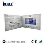 Promotional 5.0 pouces mini électrique Carte Business Marketing vidéo numérique avec écran LCD