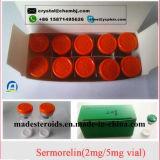 減量のペプチッドSermorelin 2mg/Vial筋肉建物は可能に薬剤を入れる