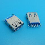 Um tipo Vertical Wholesales 3.0 SMT Conector USB