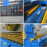 CNC van de Plaat van de Staalplaat van het metaal Hydraulische Guillotine Shear , Scherpe Machine, de Hydraulische Scharen van de Straal van de Schommeling
