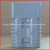 350A 600V o plugue do conector cinza do terminal da bateria de 2 Pinos do conector de Anderson Sb350A