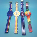 Kundenspezifische justierbare SilikonRFID Wristband-Armbänder mit CMYK Drucken