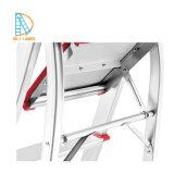 De Ladder/het Aluminium die van het Huishouden van Aluminim de Kruk van de Stap vouwen