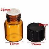 bottiglia di vetro dell'olio essenziale di 2ml Brown