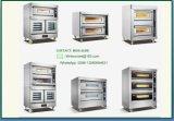 Forno commerciale di combinazione del gas del fornitore con memoria, forno di convezione dell'aria calda e fermentazione