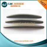 Tiras del carburo de tungsteno para el uso de la parte que desgasta