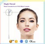 Cuerda de rosca cosmética Pdo del diente 3D con la aguja
