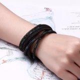 Fördernder Geschenk-magnetischer Haken-mehrschichtige Legierungs-Armband-Schmucksachen