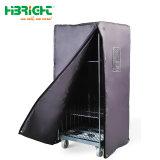 FoldableおよびNestable鋼鉄ロール容器のケージのトロリー