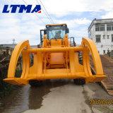 De Chinese Nieuwe Prijs het Logboek van 13 - 15 Ton ATV grijpt Lader vast