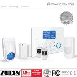 Сенсорный экран беспроводной связи стандарта GSM+PSTN домашней безопасности сигнал тревоги