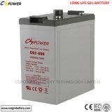 Lange Lebensdauer-Gel-Batterie 2V 600ah für Sonnenenergie 48V