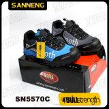 Les hommes chaussures de sécurité de la mode d'Action Sport avec semelle EVA Wearproof léger cimenté+certificat CE Femmes/Lady chaussures de haute qualité respirable bonne vente (SN5570)