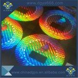 Анимации 3D Голографическая наклейка безопасности наклейки
