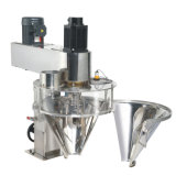 Il dispositivo per l'impaccettamento semiautomatico adotta ad insaccamento artificiale, le bottiglie, le latte (JAS-100/50/30/15)