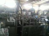 Empaquetadora material química con el sistema de control del PLC