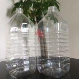 Halb automatisches Handbuch 5 Liter-Plastikflasche, die Maschine herstellt