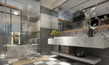 マットはホーム装飾のための内部の陶磁器の防水壁のタイルを艶をかけた