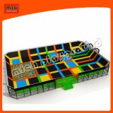 Mich High Quality Patented Design Broad Indoor Park Trampoline