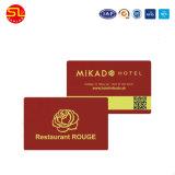 Mf 1K 13.56MHz cartão RFID inteligentes de PVC
