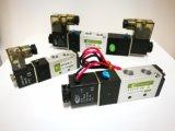 Пневмораспределитель AirTAC 4V110-06, 4V210-06, 4V210-08, 4V310-10 Пневмораспределители 5/2, одностороннее управление, пружинны