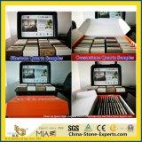 Polidos Transparente Artificial Projetado Quartz para cozinha/casa de banho com azulejos de parede/cinza/branco/preto/dourado/Rusty/amarelo/marrom/cor-de-rosa