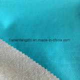 Ткань 100% Pongee решетки полиэфира для формы с напечатанной основой пленки