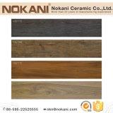 Unglazed Baldosa Cerámica de porcelana de madera para suelos de materiales de construcción