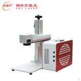 macchina portatile della marcatura del laser della fibra 20With30With50W per il tasto