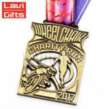 De in het groot Goedkope Medaille van de Toekenning van de Sport van het Metaal van de Douane Leuke Verwijderde
