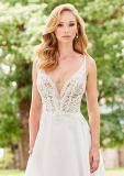 Пляжа Organza шнурка мантий планок спагеттиа платье венчания H5212 Bridal официально перемещая
