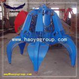 Encavateur hydraulique de peau d'orange de charge en acier de rebut
