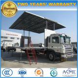 JAC 4X2 de Vrachtwagen van de Prestaties van het Stadium van 60 M2 met de LEIDENE HD Vrachtwagen van de Vertoning