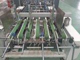 고속 가득 차있는 자동적인 자물쇠 바닥 4와 6 코너 폴더 Gluer 기계 Jhh-1450