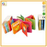 Libro de cartón /Cartón impresión de libros de los niños