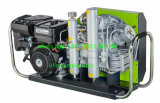 Compresor de Aire de Respiración de la Zambullida Portable del Equipo de Submarinismo de la Gasolina 225bar